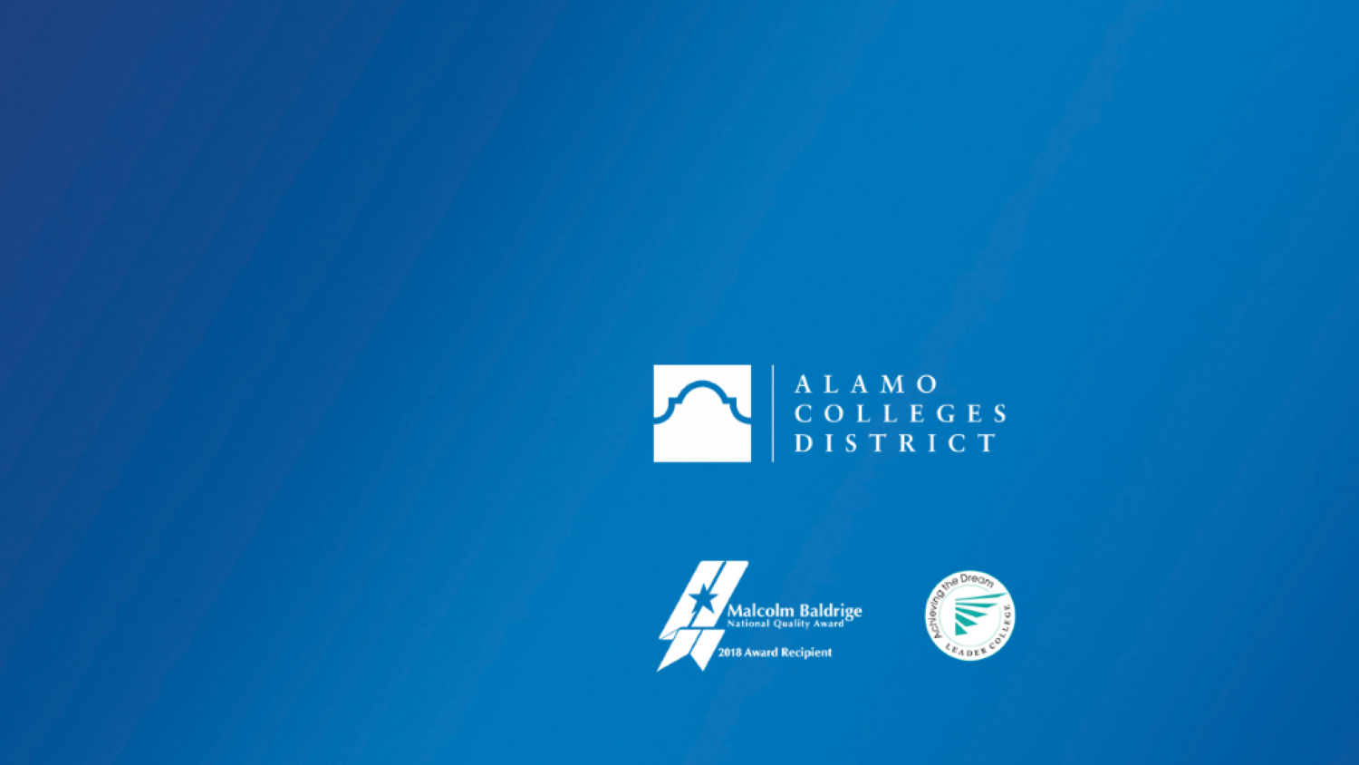 Alamo Colleges District PowerPoint Template