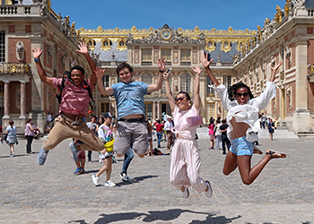 Alamo Colleges District students in Versailles