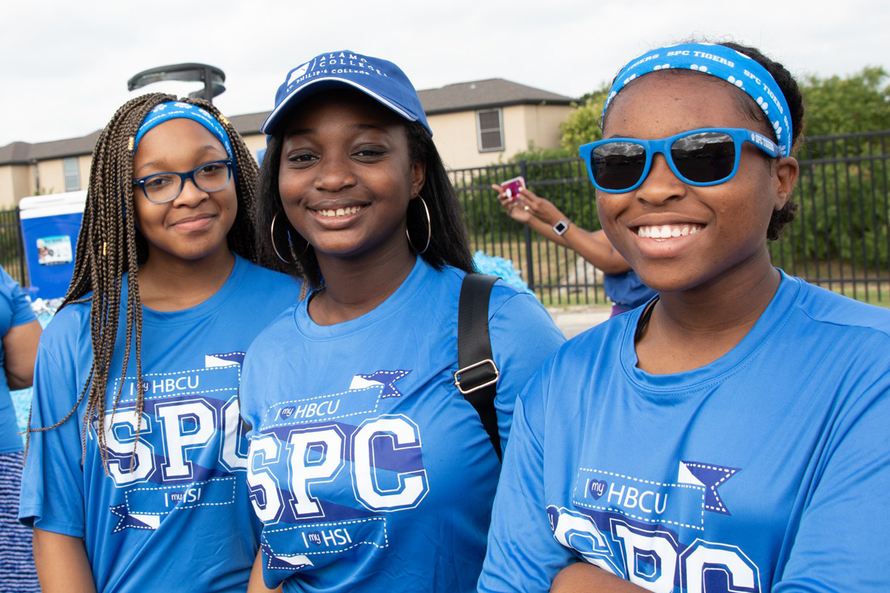 Three SPC Students At Juneteenth Parade