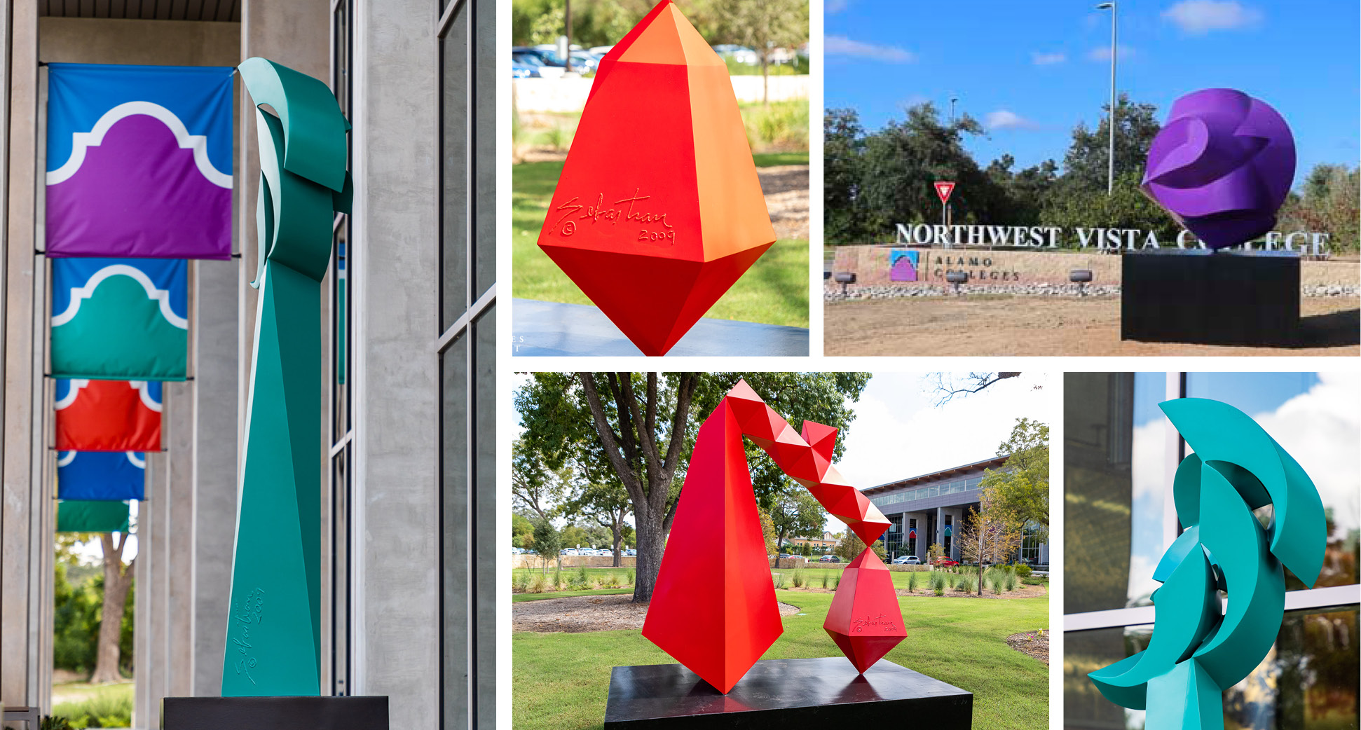 Art Installations Across Colleges