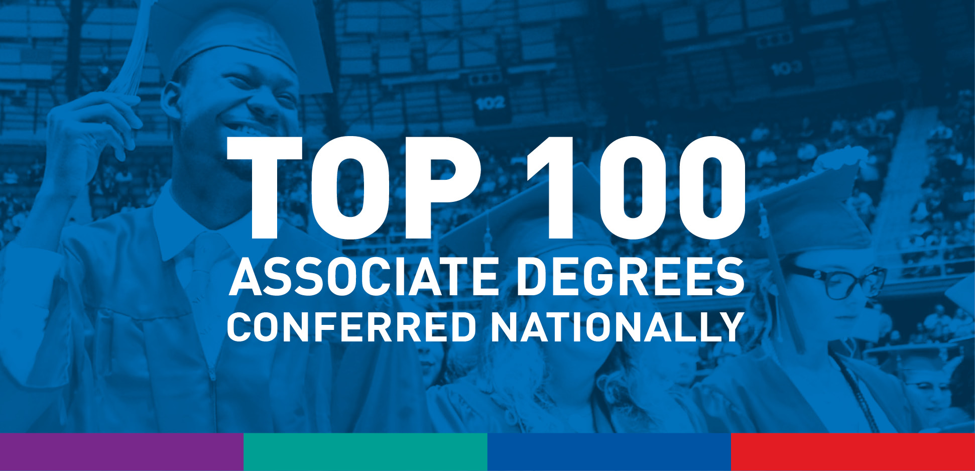 Top 100 Associate Degree Conferred Nationally