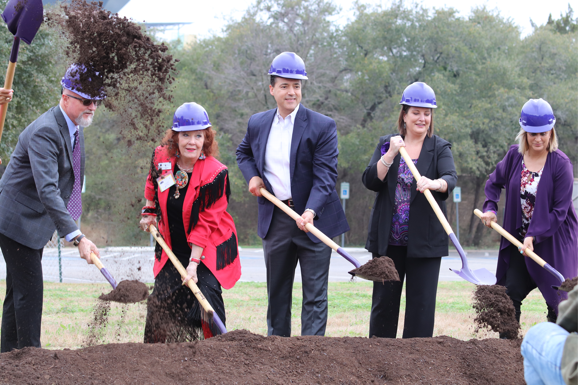 Groundbreaking Ceremony At Northwest Vista College