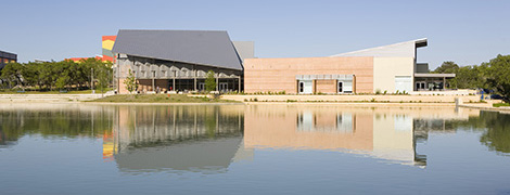 Campus - CCC with lake