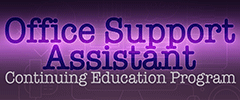 Office Support Assistant Program
