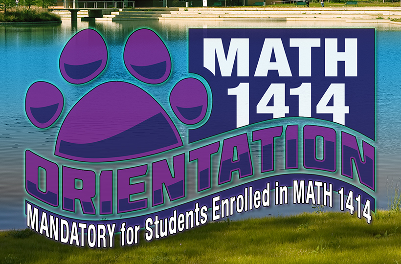 Orientation for MATH 1414