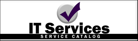 IT Services Catalog