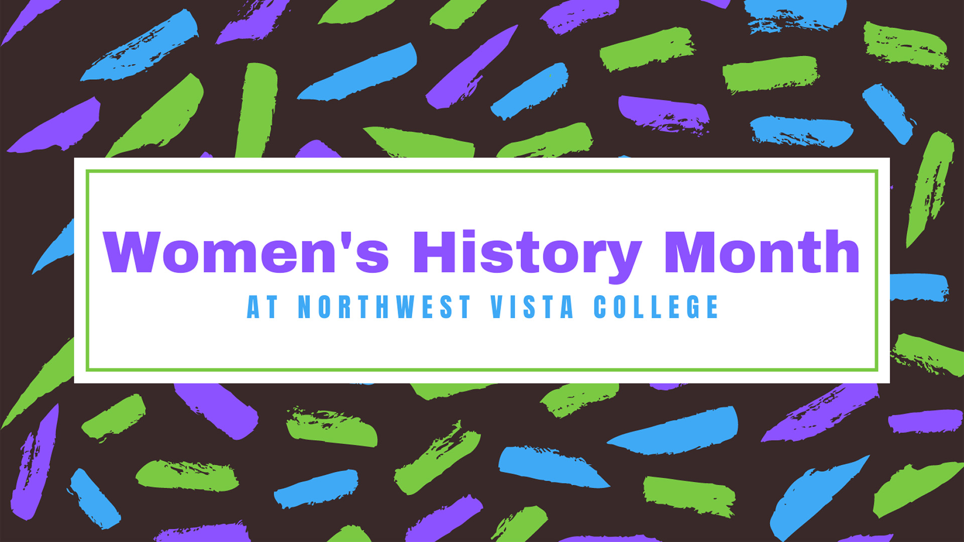 Women's History Month at NVC