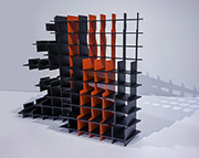 Stepped Structure Series - Acrylic Glass 1
