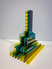 Stepped Structure Series - Acrylic Glass 2