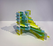 Stepped Structure Series - Acrylic Glass 4