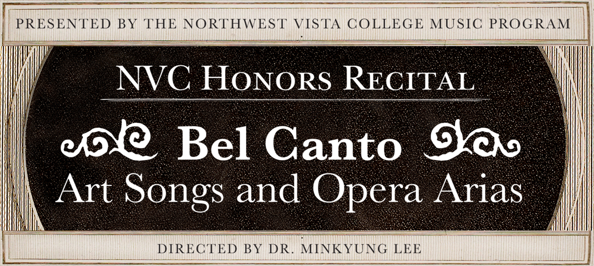 NVC Honors Recital - Voice event