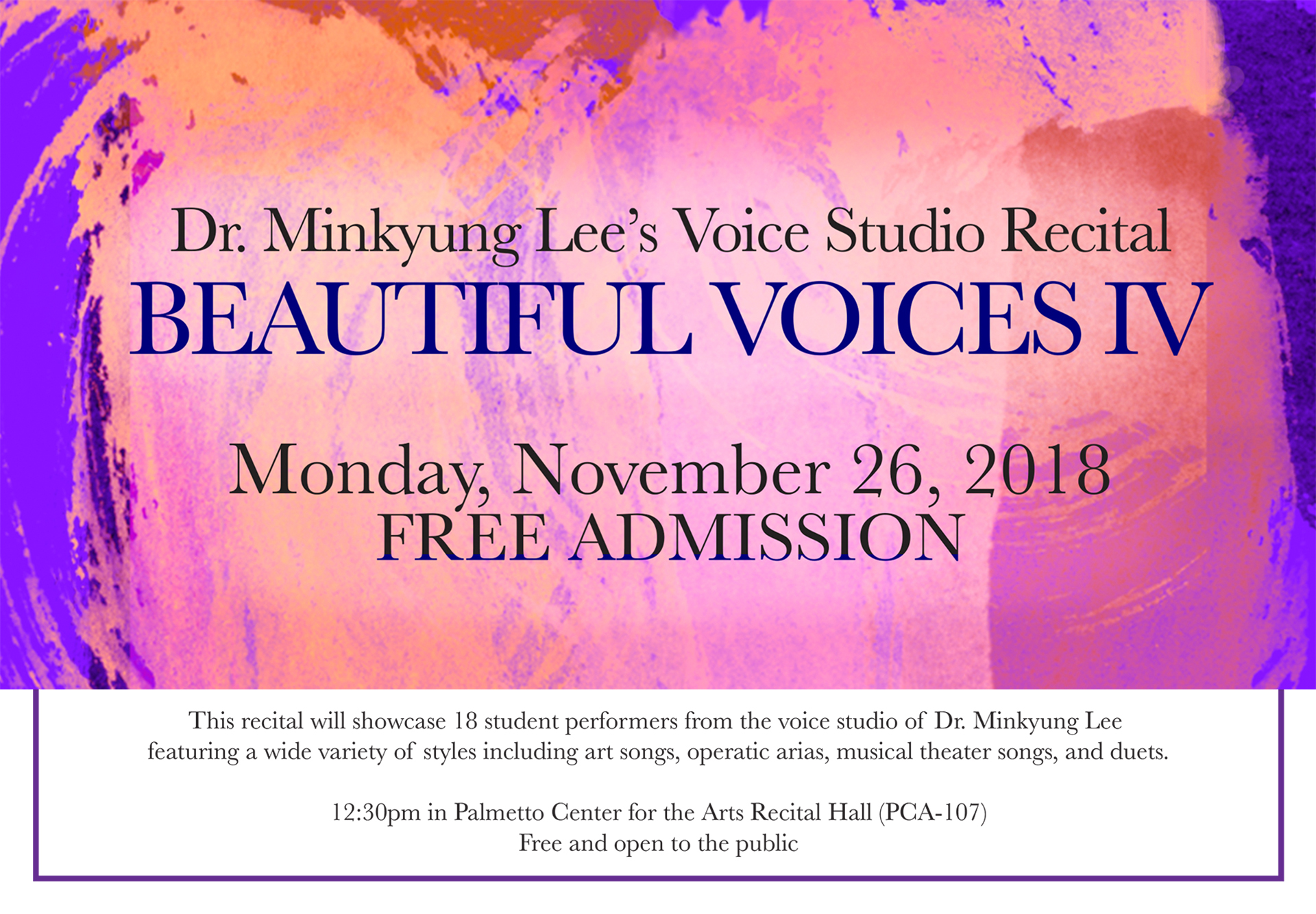 Beautiful Voices - Choir event