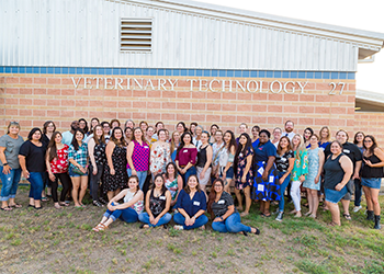 Veterinary Technology 20-year reunion