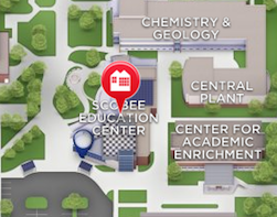 Scobee Education Center Map