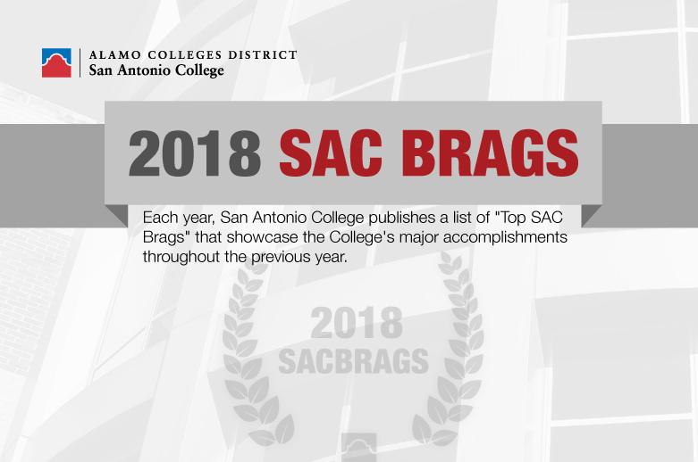 2018 Sac Brags Announcement Alamo Colleges