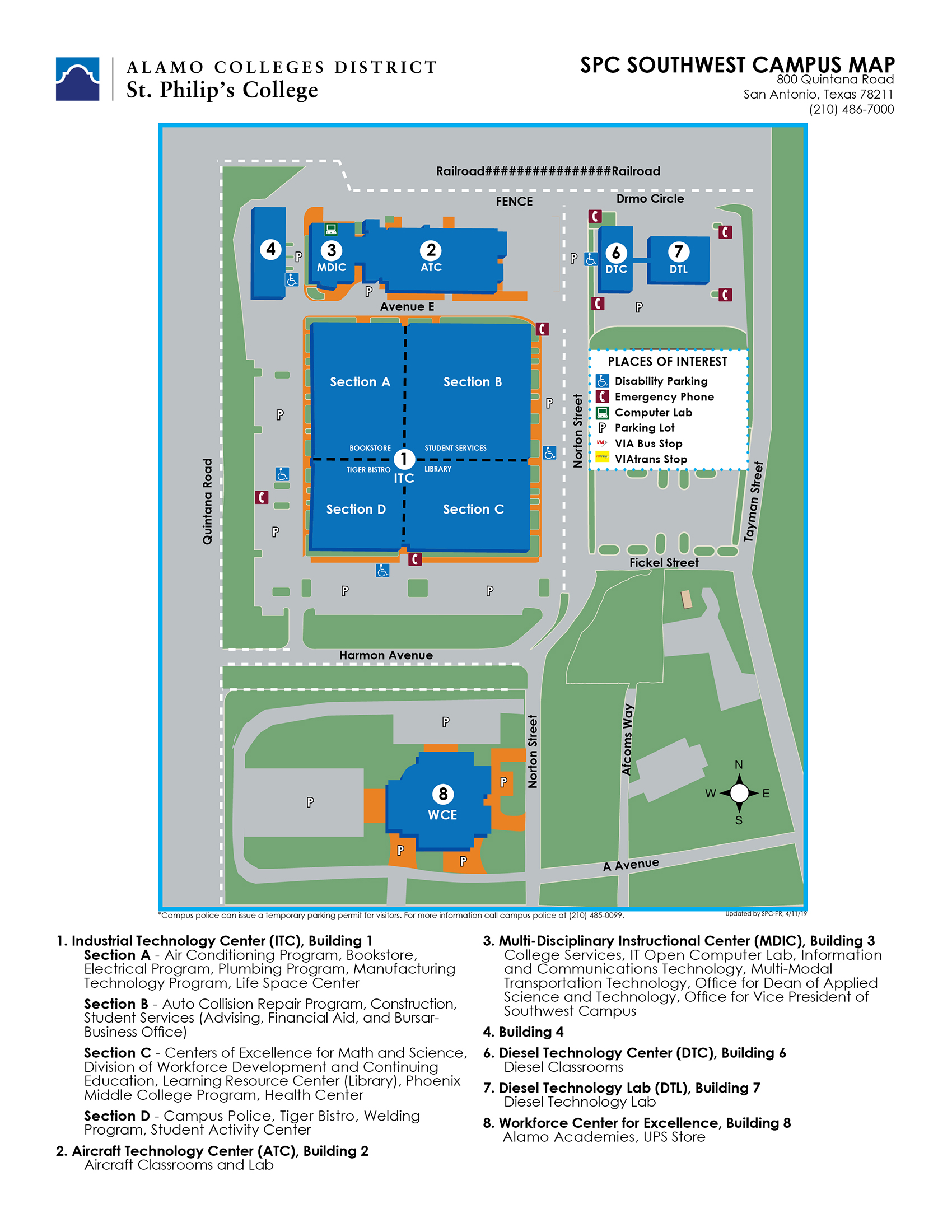 Campus Map - SWC